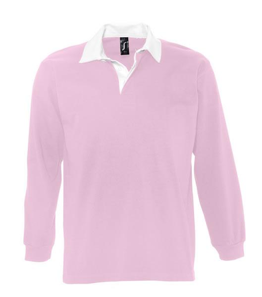 Koszulki Polo S 11313 PACK 280 - 11313_pink_white_S - Kolor: Pink / White