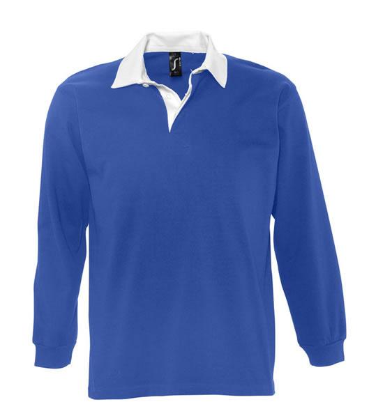 Koszulki Polo S 11313 PACK 280 - 11313_royalblue_white_S - Kolor: Royal blue / White