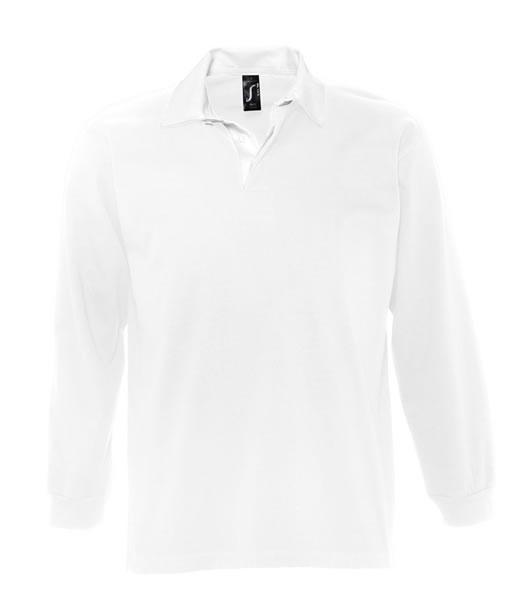 Koszulki Polo S 11313 PACK 280 - 11313_white_white_S - Kolor: White / White