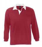 Koszulki Polo S 11313 PACK 280 - 11313_carminered_white_S Carmine red / White