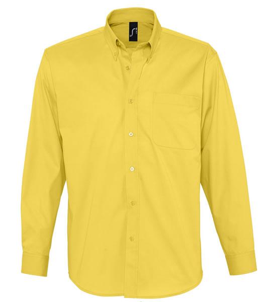 Koszula S 16090 BEL-AIR  - 16090_gold_S - Kolor: Gold