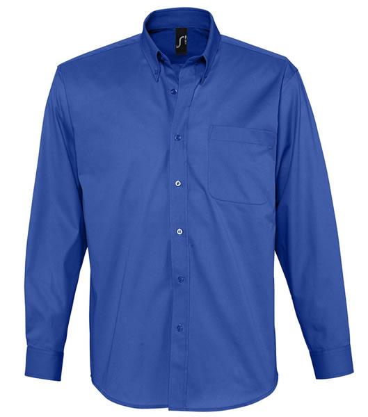 Koszula S 16090 BEL-AIR  - 16090_royal_blue_S - Kolor: Royal blue