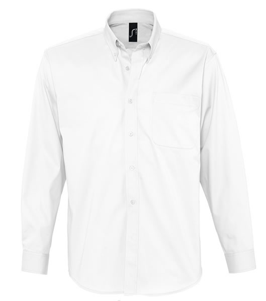 Koszula S 16090 BEL-AIR  - 16090_white_S - Kolor: White