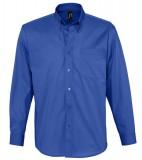 Koszula S 16090 BEL-AIR  - 16090_royal_blue_S Royal blue