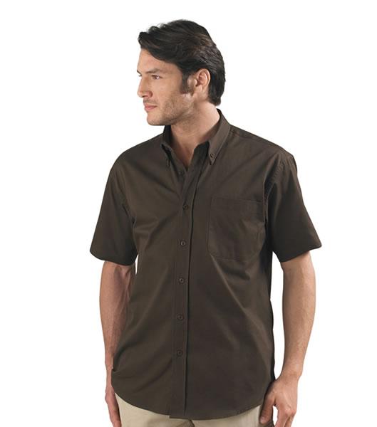 Koszula S 16080 BROOKLYN - 16080_chocolate_S - Kolor: Chocolate