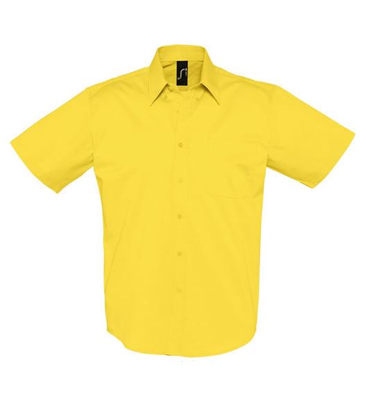 Koszula S 16080 BROOKLYN - 16080_gold_S - Kolor: Gold