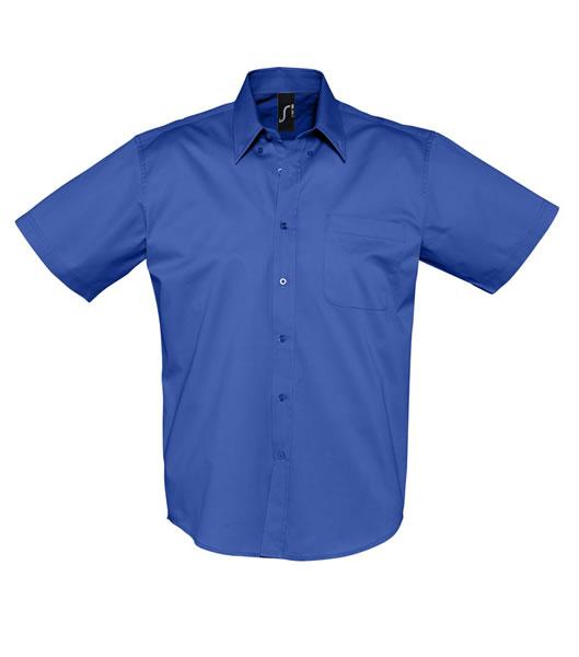 Koszula S 16080 BROOKLYN - 16080_royal_blue_S - Kolor: Royal blue