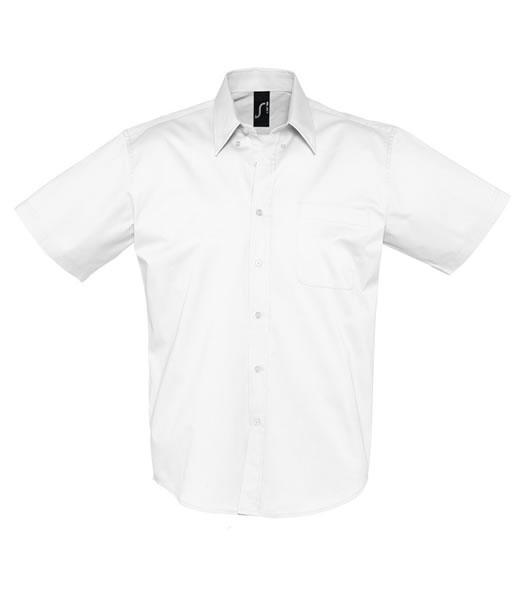 Koszula S 16080 BROOKLYN - 16080_white_S - Kolor: White