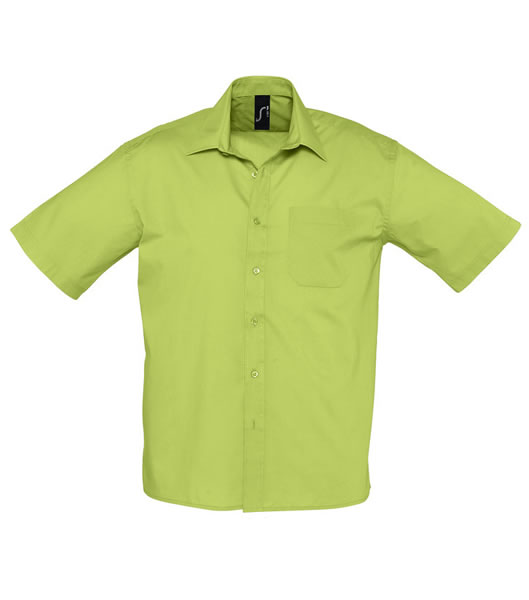 Koszula S 16050 BRISTOL - 16050_aplle_green_S - Kolor: Apple green