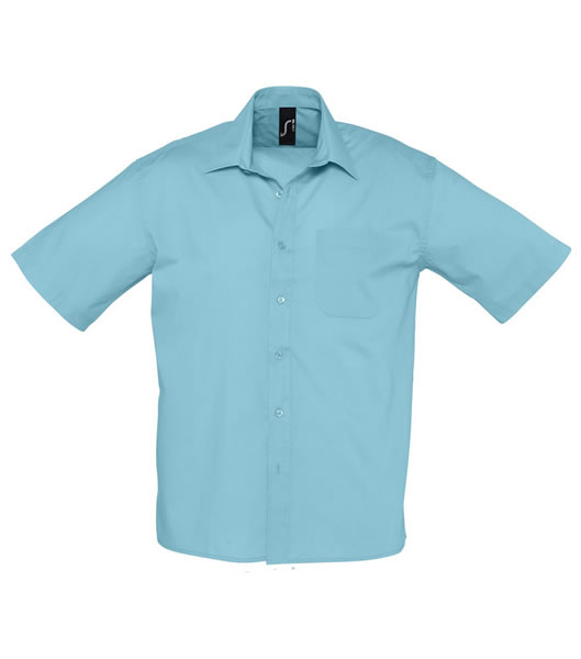 Koszula S 16050 BRISTOL - 16050_atoll_blue_S - Kolor: Atoll blue