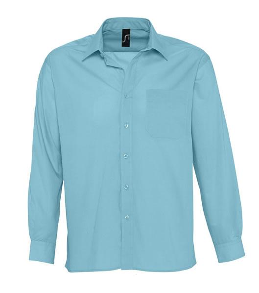 Koszula S 16040 BALTIMORE - 16040_atoll_blue_S - Kolor: Atoll blue