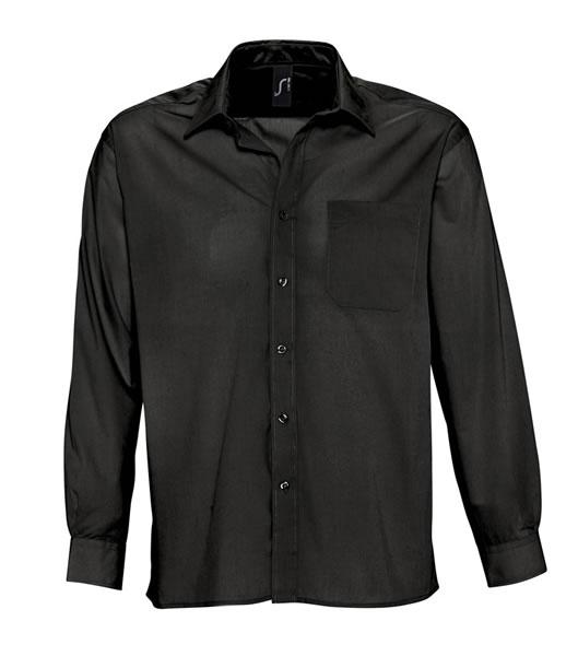 Koszula S 16040 BALTIMORE - 16040_black_S - Kolor: Black