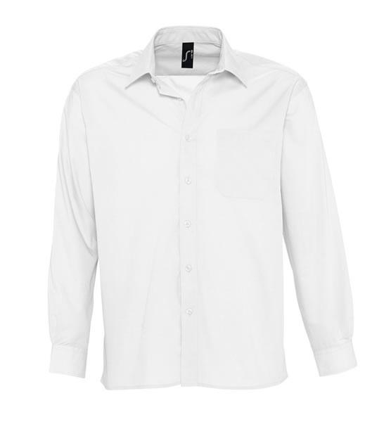 Koszula S 16040 BALTIMORE - 16040_white_S - Kolor: White