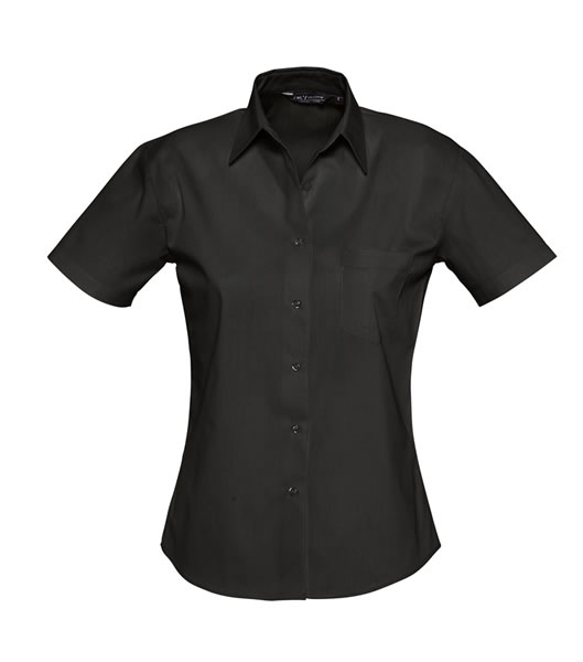 Koszula Ladies S 17040 ENERGY - 17040_black_S - Kolor: Black