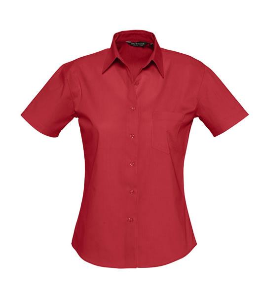 Koszula Ladies S 17040 ENERGY - 17040_flamenco_red_S - Kolor: Flamenco red
