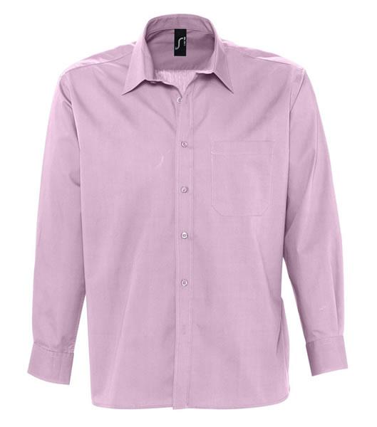 Koszula S 17060 BRADFORD  - 17060_bright_pink_S - Kolor: Bright pink