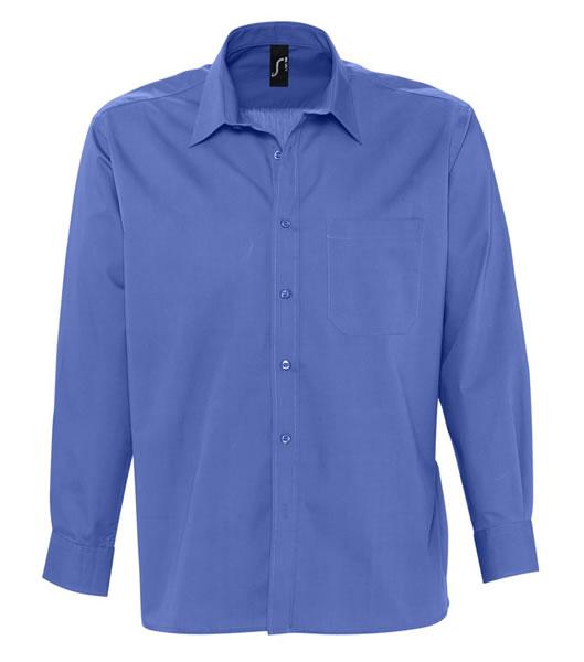 Koszula S 17060 BRADFORD  - 17060_cobalt_blue_S - Kolor: Cobalt blue