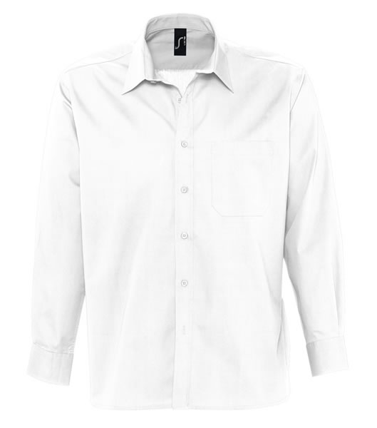 Koszula S 17060 BRADFORD  - 17060_white_S - Kolor: White