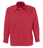 Koszula S 17060 BRADFORD  - 17060_flamenco_red_S Flamenco red