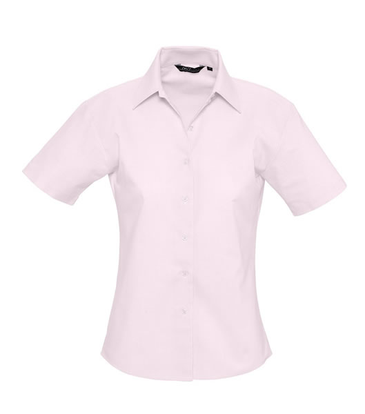 Koszula Ladies S 16030 ELITE - 16030_pale_pink_S - Kolor: Pale pink