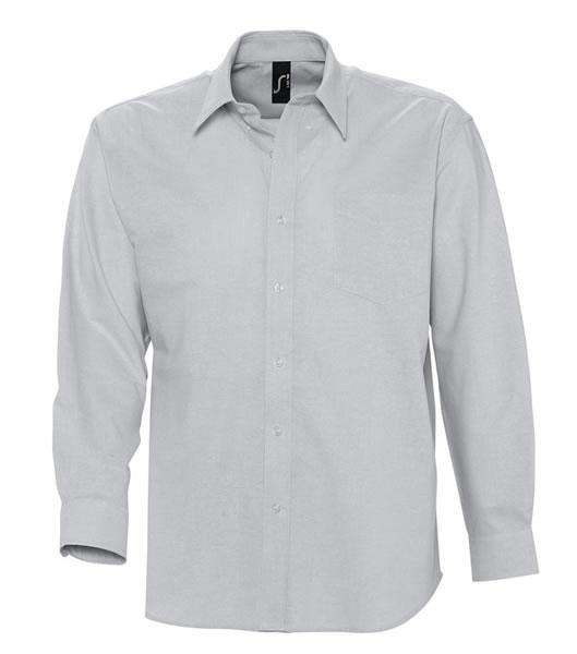 Koszula S 16000 BOSTON - 16000_silver_S - Kolor: Silver