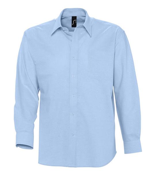Koszula S 16000 BOSTON - 16000_sky_blue_S - Kolor: Sky blue