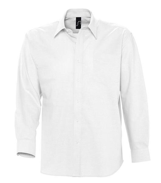 Koszula S 16000 BOSTON - 16000_white_S - Kolor: White