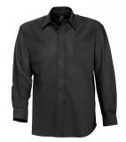 Koszula S 16000 BOSTON - 16000_black_S Black