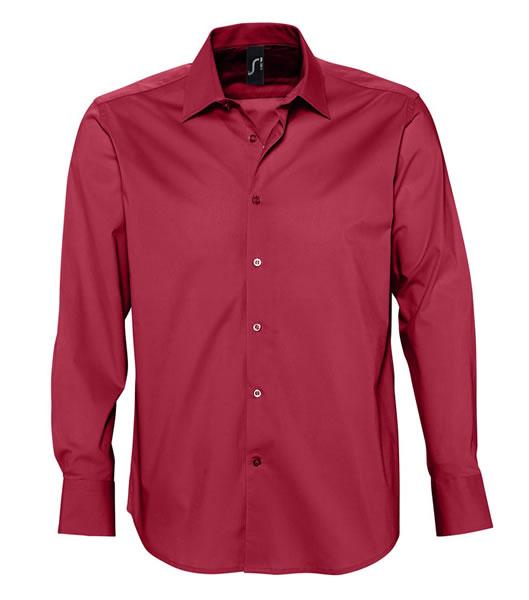 Koszula S 17000 BRIGHTON - 17000_cardinal_red_S - Kolor: Cardinal red