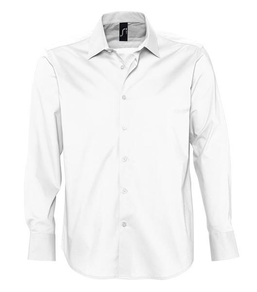 Koszula S 17000 BRIGHTON - 17000_white_S - Kolor: White