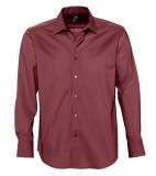 Koszula S 17000 BRIGHTON - 17000_medium_burgundy_S Medium burgundy
