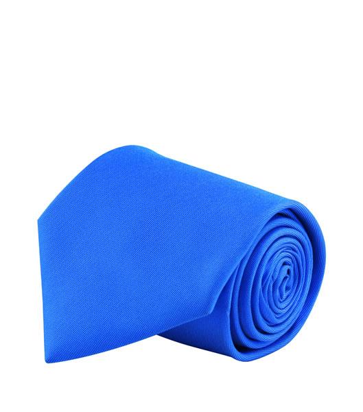 Krawat S 82000 GLOBE - 82000_royal_blue_S - Kolor: Royal blue