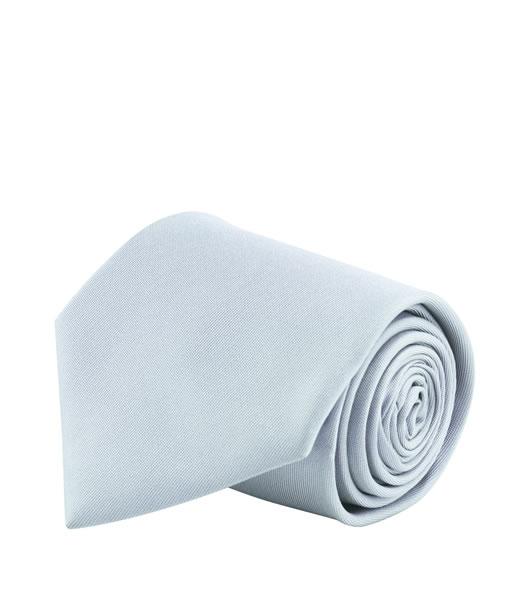 Krawat S 82000 GLOBE - 82000_silver_S - Kolor: Silver