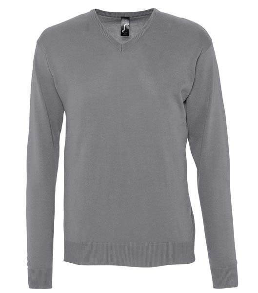 Sweter S 90000 GALAXY MEN - 90000_medium_grey_S - Kolor: Medium grey