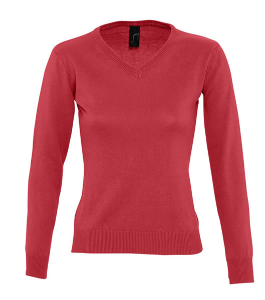 Sweter Ladies S 90010 GALAXY WOMEN - 90010_red_S - Kolor: Red