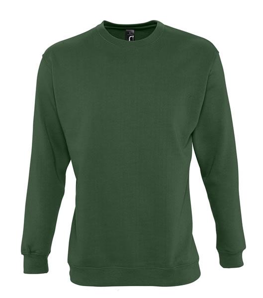 Bluza dresowa Unisex S 13250 NEW SUPREME 280 - 13250_bottle_green_S - Kolor: Bottle green