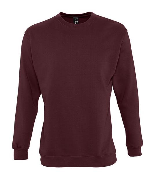 Bluza dresowa Unisex S 13250 NEW SUPREME 280 - 13250_burgundy_S - Kolor: Burgundy