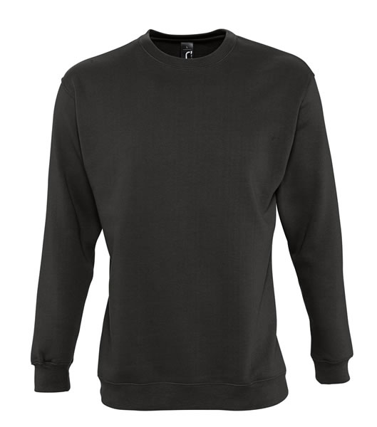 Bluza dresowa Unisex S 13250 NEW SUPREME 280 - 13250_deep_charcoal_grey_S - Kolor: Deep charcoal grey