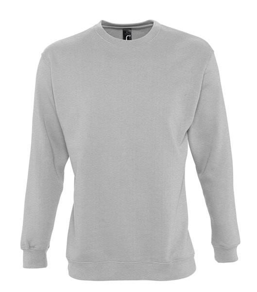 Bluza dresowa Unisex S 13250 NEW SUPREME 280 - 13250_grey_melange_S - Kolor: Grey melange