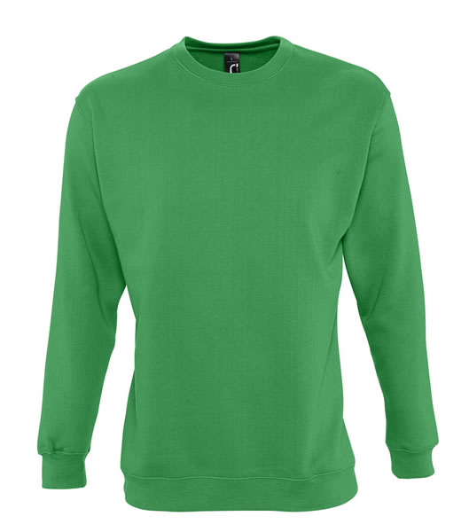 Bluza dresowa Unisex S 13250 NEW SUPREME 280 - 13250_kelly_green_S - Kolor: Kelly green