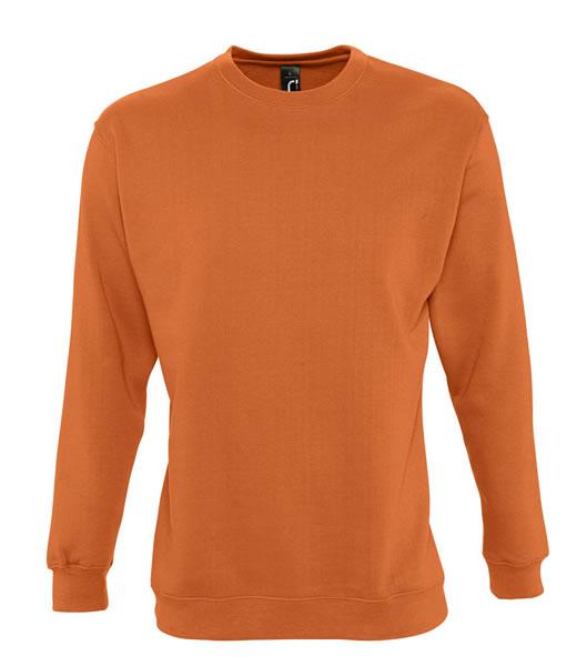 Bluza dresowa Unisex S 13250 NEW SUPREME 280 - 13250_orange_S - Kolor: Orange