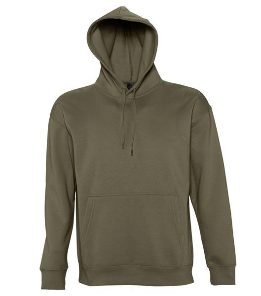 Bluza dresowa S 13251 SLAM 320 - 13251_army_S - Kolor: Army