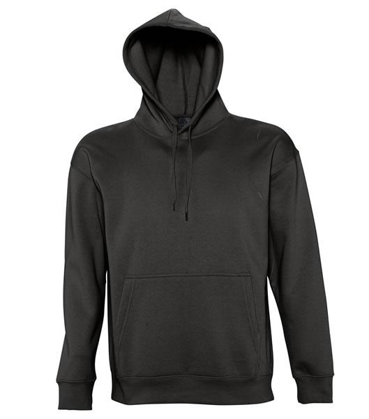 Bluza dresowa S 13251 SLAM 320 - 13251_black_S - Kolor: Black