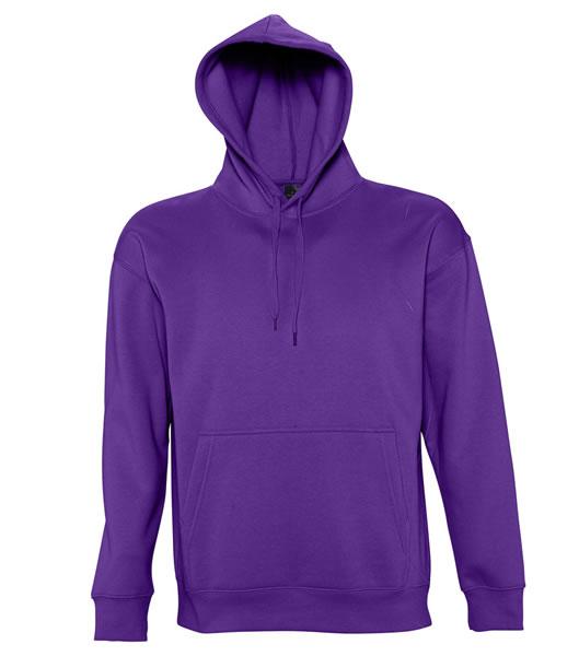 Bluza dresowa S 13251 SLAM 320 - 13251_dark_purple_S - Kolor: Dark purple