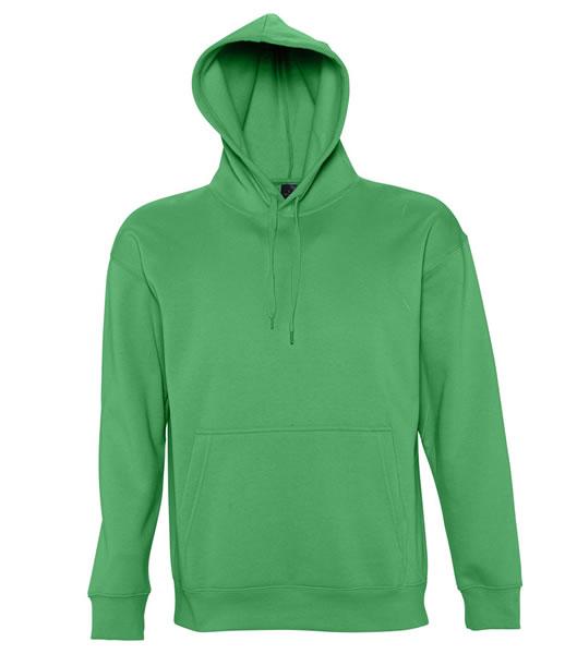 Bluza dresowa S 13251 SLAM 320 - 13251_kelly_green_S - Kolor: Kelly green