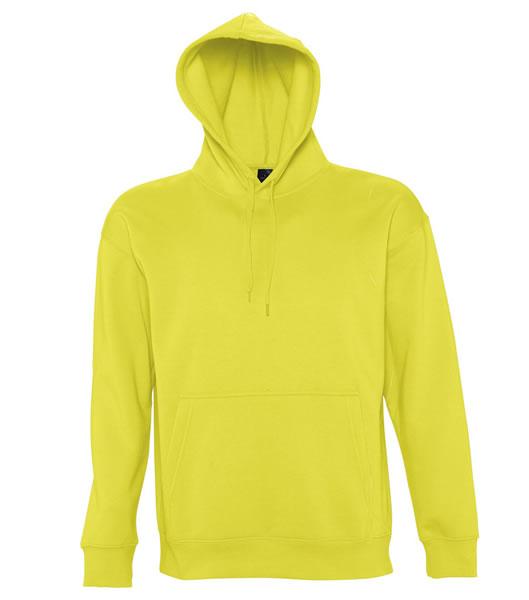 Bluza dresowa S 13251 SLAM 320 - 13251_lemon_S - Kolor: Lemon