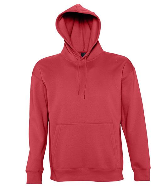 Bluza dresowa S 13251 SLAM 320 - 13251_red_S - Kolor: Red