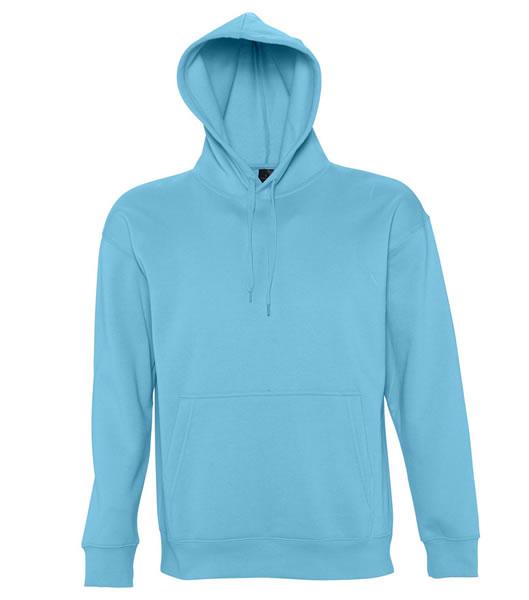 Bluza dresowa S 13251 SLAM 320 - 13251_turquoise_S - Kolor: Turquoise