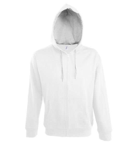 Bluza dresowa S 46900 SOUL MEN 290 - 46900_white_greymelange_S - Kolor: White / Grey melange