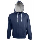 Bluza dresowa S 46900 SOUL MEN 290 - 46900_frenchnavy_greymelange_S White / Grey melange